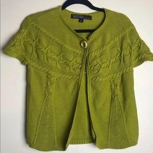 Kasper chunky knit cardigan size large